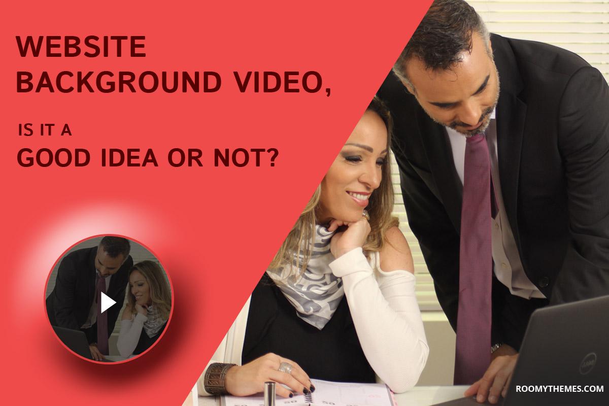 website background video
