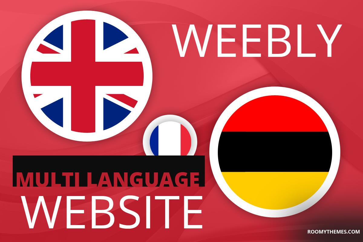 multi language weebly wensite