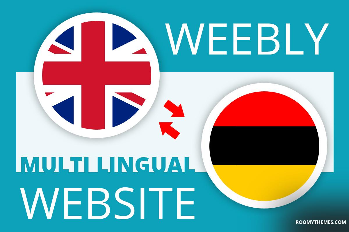 build multiple language or multi linhual weebly website