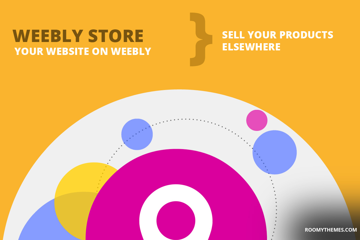 weebly store - host your website on weebly and sell your products outside weebly