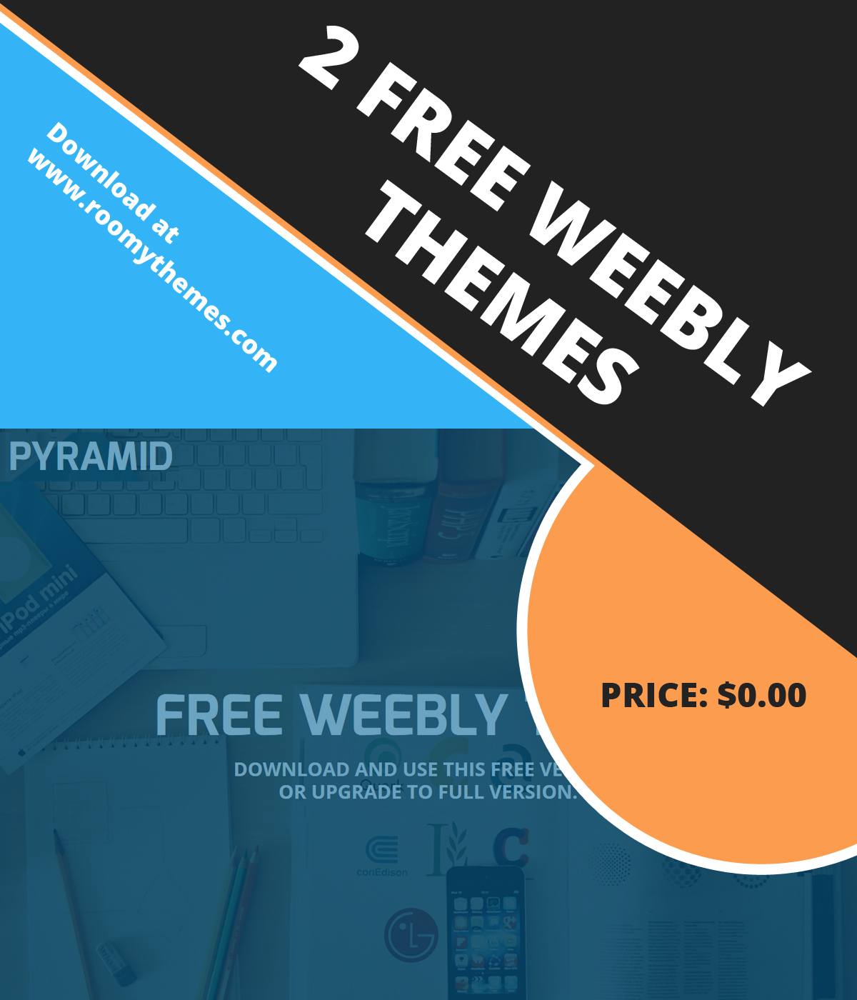 2 New Free Weebly Themes To Download - Roomy Themes