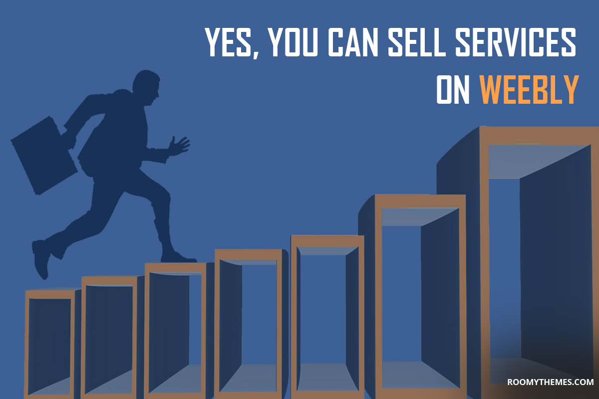 sell services on weebly website