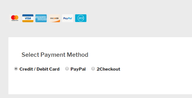 new payment methods added